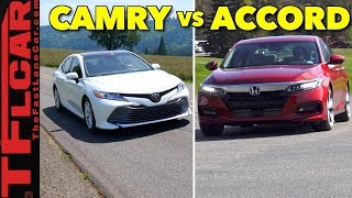 2018 Honda Accord vs Toyota Camry Review: Top 5 Differences You Need to Know!