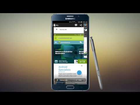 Galaxy Note 5 scrolling screenshot