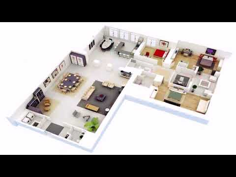 3 Bedroom House With Floor Plans