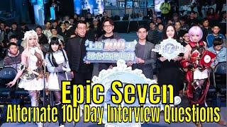 Epic Seven: Alternate 100 Day Celebration/Interview Look/Yufine A  Protaganist? - PlayKindle org