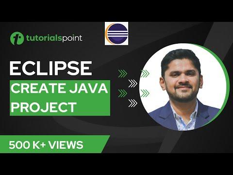 Eclipse - Create Java Project