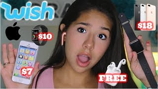 I Bought a FAKE iPhone X and Apple Watch from Wish!!