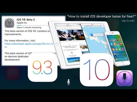 How to install iOS 11.1 beta for free, without UDID registration and not computer