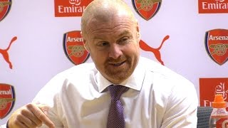 Arsenal 2-1 Burnley - Sean Dyche Full Post Match Press Conference