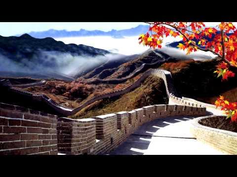 Beautiful Chinese Music   The Great Wall   Study, Relax, Meditation