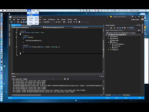 How to Run Visual Studio on Mac OSX