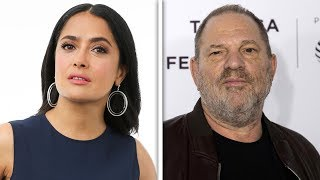 Weinstein Forced Salma Hayek Into Sex Scene