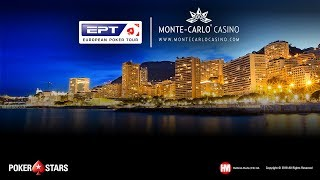 POKERSTARS & MONTE-CARLO©CASINO EPT Main Event, Day 2 (Cards-Up)