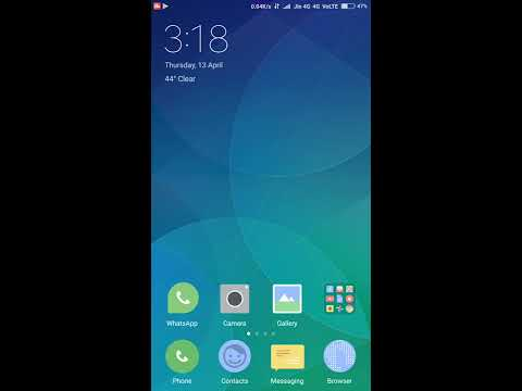how to check redmi note 4 android version