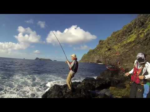 Lord Howe island Curio point 1 meter kingfish LBG with ISO rod