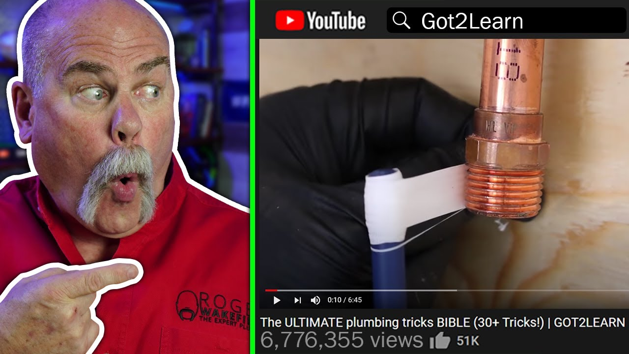These Plumbing Tricks Are INSANE - Reacting to Got2Learn