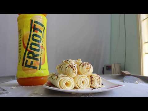 MANGO Frooti ICE CREAM ROLLS - SATISFYING ASMR VIDEO
