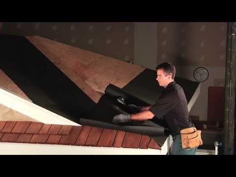 Benjamin Obdyke Cedar Breather Ventilated Underlayment Installation Video