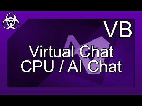 Command Prompt & Virtual CPU Chat in Visual Basic using Visual Studio Tutorial