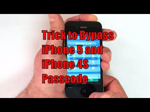 How to Bypass iPhone 5 and iPhone 4S Passcode