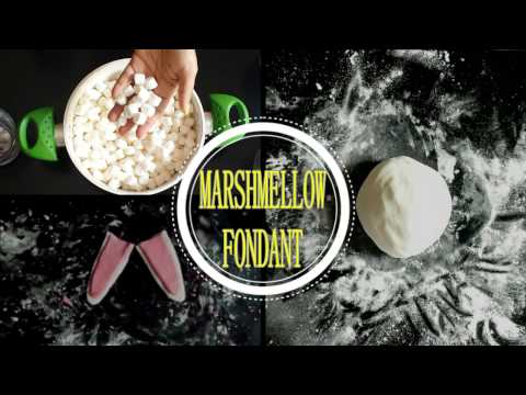 HOW TO MAKE  EASY MARSHMALLOW FONDANT WITHOUT OVEN | COLOR FONDANT | STORAGE | DESIGN