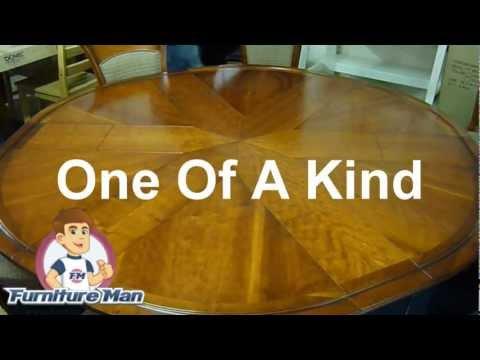 Designer Cherry Wood Dining Room Table FurnitureManIreland