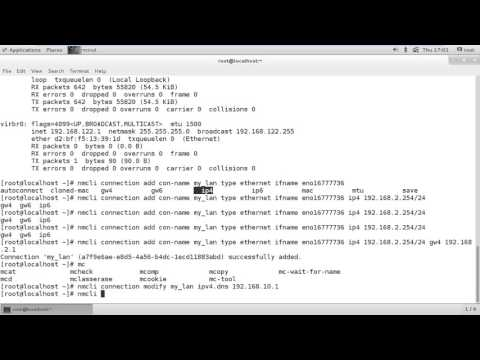 How to configure Network and setup Hostname in CentOS 7