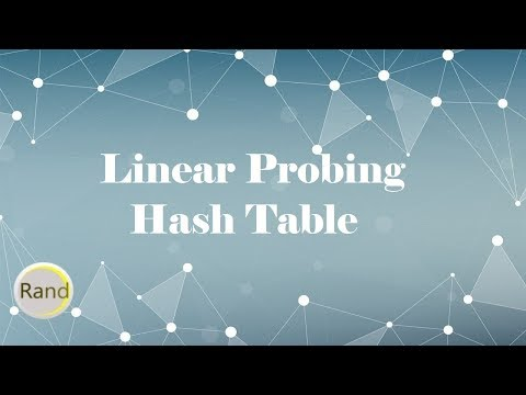 Linear Probing Hash Table
