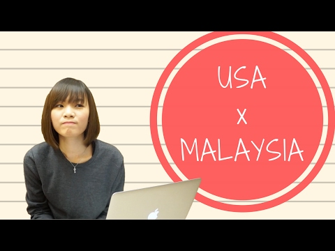 USA vs MALAYSIA - Cultural Differences / Why Do People Say