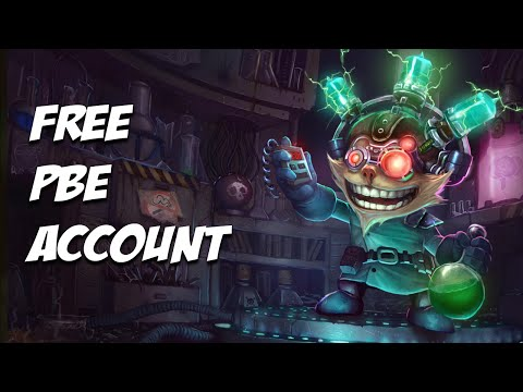 How to get a free PBE account