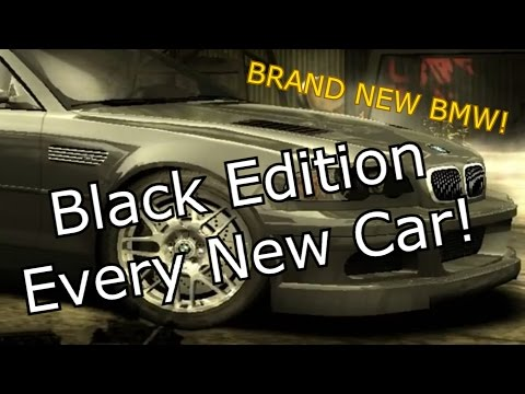 NFS Most Wanted: Black Edition - EVERY NEW CAR!