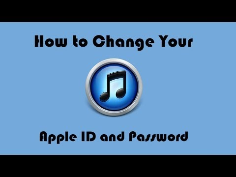 How to Change Your Apple ID and Password