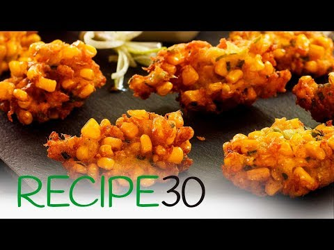 Crab and Corn fritters - Simple to make