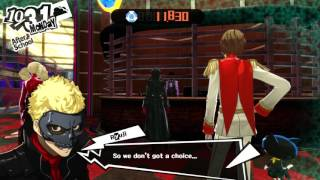 DDay Plays Persona 5  -EP51- Finshing the Infiltration and Reading a Lot of Books