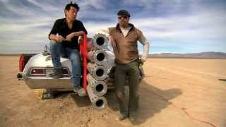 JATO Rocket Car Revisited | MythBusters