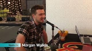 "Morgan Wallen explains how he got FGL on ""Up Down"" | 2017 CMA Awards"