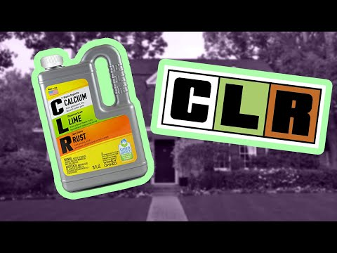 Cleaning a Toilet with CLR