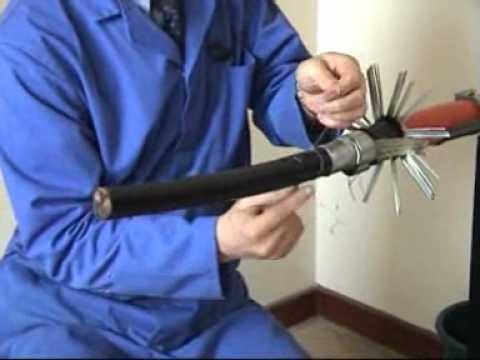 Heat Shrink / Resin 11kV Cable Joint 3.3kV, 6.6kV 11kV, 15kV - SPS Uniset - Straight Cable Joint