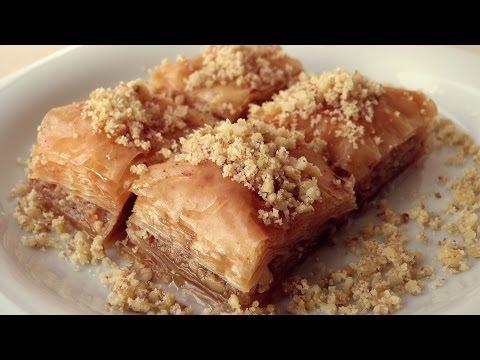 Turkish Baklava Recipe | Traditional Baklawa Recipe