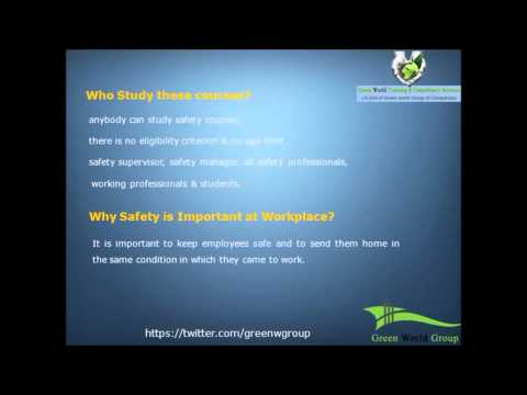 NEBOSH IGC, IOSH, Diploma Safety Training Courses INDIA | UAE | SAUDI