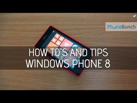 Installing Apps from SD Card on Windows Phone and other How to's