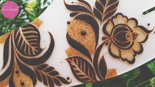 Arabic Henna Design Henna Tutorials Classes And Lessons By Devaky
