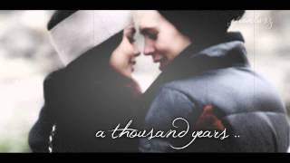 a thousand years // vanessa + austin