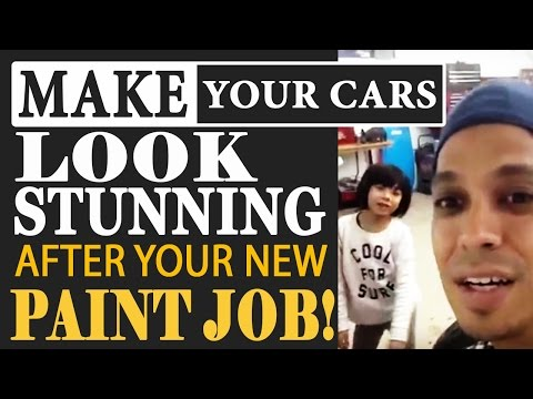 How To Make Your Car Look STUNNING After Your New Paint Job!