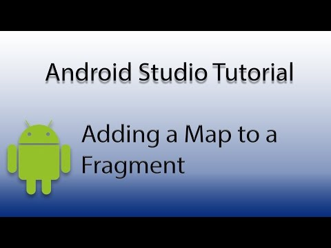 Android Studio: Add Map to Fragment