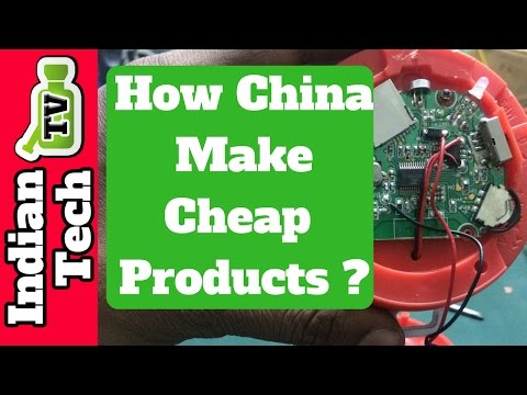How China Makes So cheap Product | Chinese Secret | Indian Tech Tv