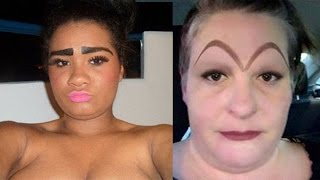 The Worlds Worst Eyebrows! #7