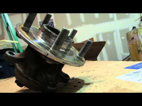 2012 FORD FOCUS wheel bearing removal