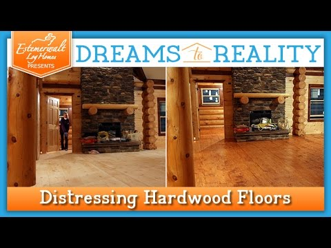 How To Distress Hardwood Floors
