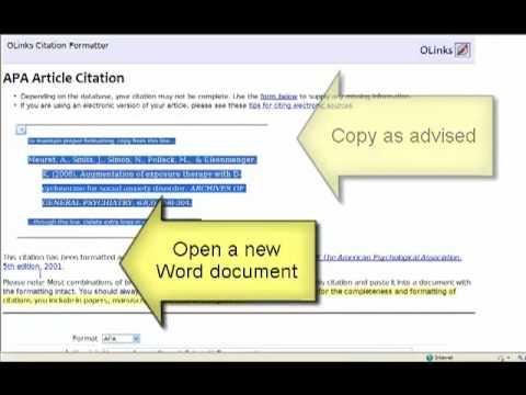 Social Sciences Citation Index Demo
