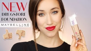 MAYBELLINE SUPER STAY FULL COVERAGE 24 HR FOUNDATION REVIEW   ALLIE GLINES