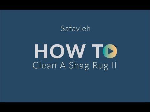 How To Clean a Shag Rug: Safavieh