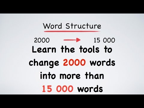 English Vocabulary: Roots, Prefixes and Suffixes