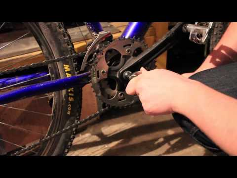 How to remove cranks from your bicycle