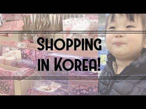 Vlog #16: Healthy Korean Buffet Restaurant in Myeongdong [명동길거리] & Korean Daiso Shopping